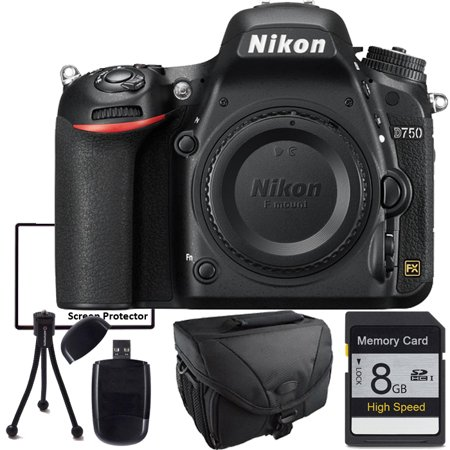 Nikon D750, Memory Card, Camera Case and starter bundle for professionals