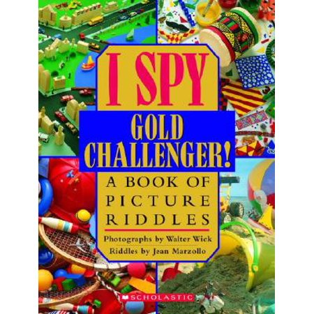 I Spy Gold Challenger: A Book of Picture Riddles (Hardcover)](Halloween Childrens Riddles)