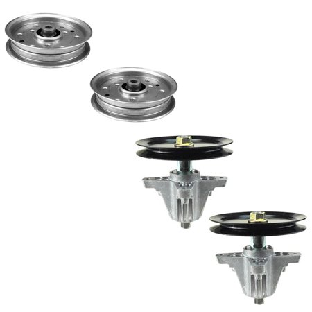 1) Mower Deck Spindle and Idler Pulley Kit for MTD/Cub Cadet