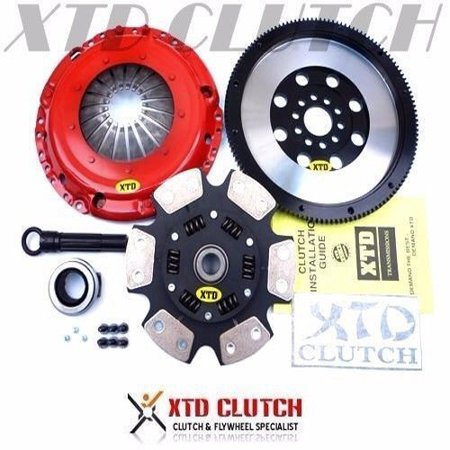 XTD STAGE 3 CERAMIC CLUTCH & X-LITE FLYWHEEL KIT VW GOLF JETTA CORRADO VR6 2.8L