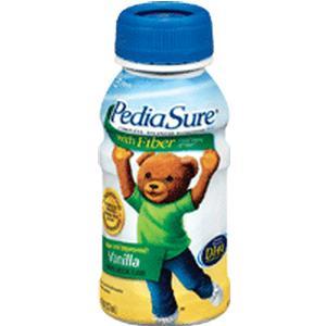 Pediasure with Fiber Vanilla 24 x 8oz Bottles (1 Case)