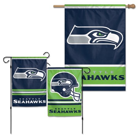 Seattle Seahawks WinCraft House Flag and Garden Flag - No Size - Seahawks Banner