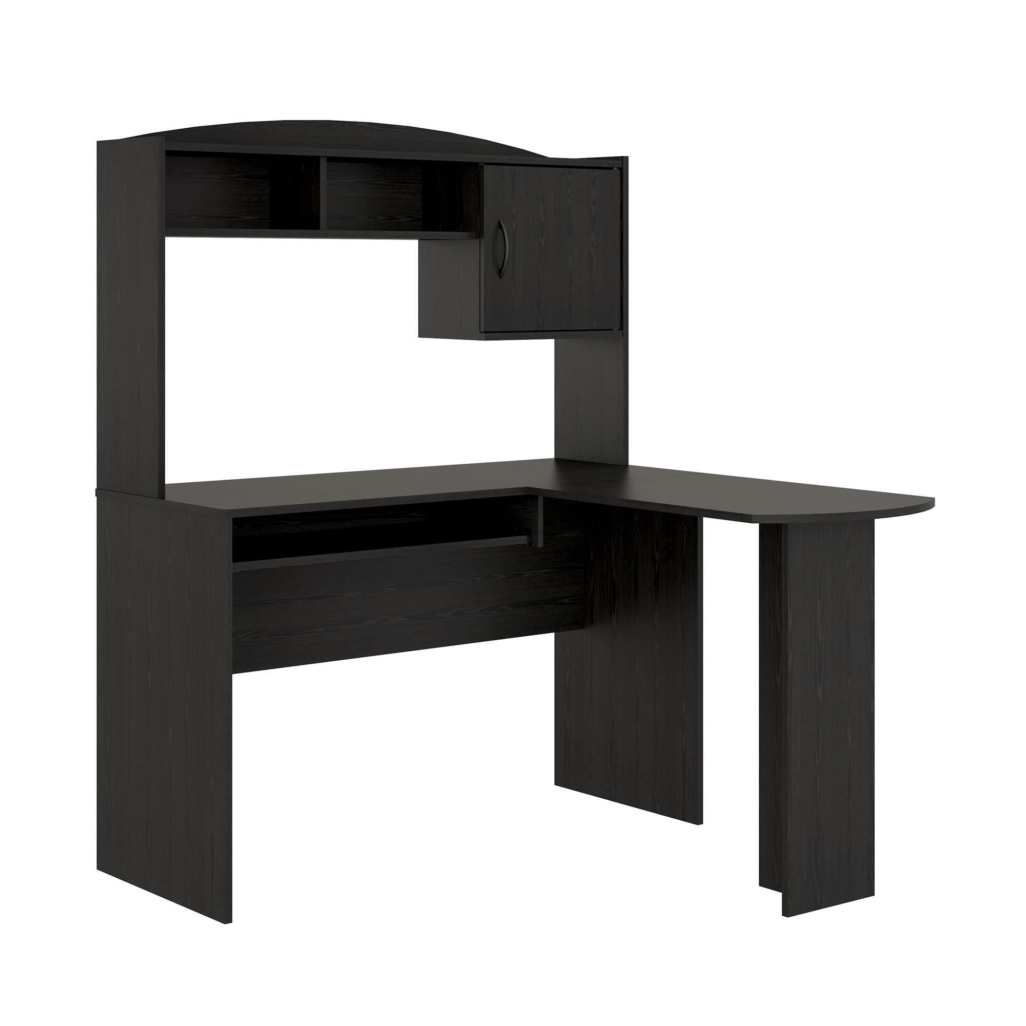 Mainstays L Shaped Desk With Hutch, Multiple Colors   Walmart.com