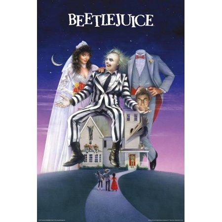 Beetlejuice- One Sheet Poster - 24x36 - Beetlejuice Decor