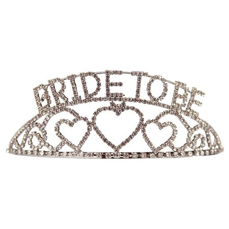 Bride to Be Tiara for Bachelorette Party and Bridal Shower Favor Amscan - Bride To Be Crown