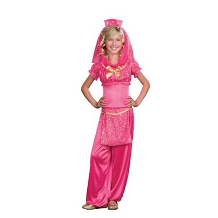 Genie May K Wish Costume Child Small - Genie Child Costume
