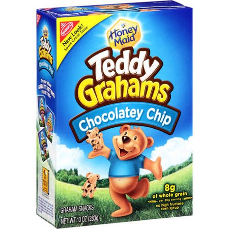 Nabisco Honey Maid Chocolate Chip Teddy Graham Snacks, 10 (Best Snacks Whole Foods)