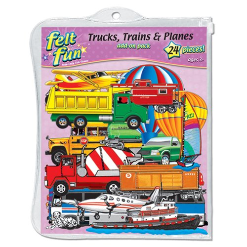 Little Folks Visuals Trains Trucks and Planes Bulletin Board Cut Out