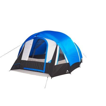Ozark Trail 10-Person Freestanding Tunnel Tent with Multi-Position Fly