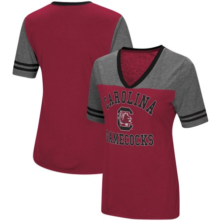 South Carolina Gamecocks Colosseum Women's The Whole Package Jersey V-Neck T-Shirt -