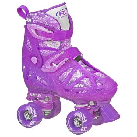 Roller Derby Girls Purple Quad M