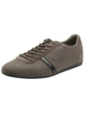 51f8f3b27165c Product Image Lacoste Mens Mokara 117 Sneakers in Dark Grey