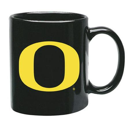 Oregon Ducks 15 oz Black Ceramic Coffee - Donald Duck Coffee Cup