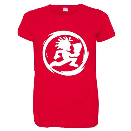 PleaseMeTees™ Womens Juggalo ICP Insane Clown Posse Logo HQ Tee