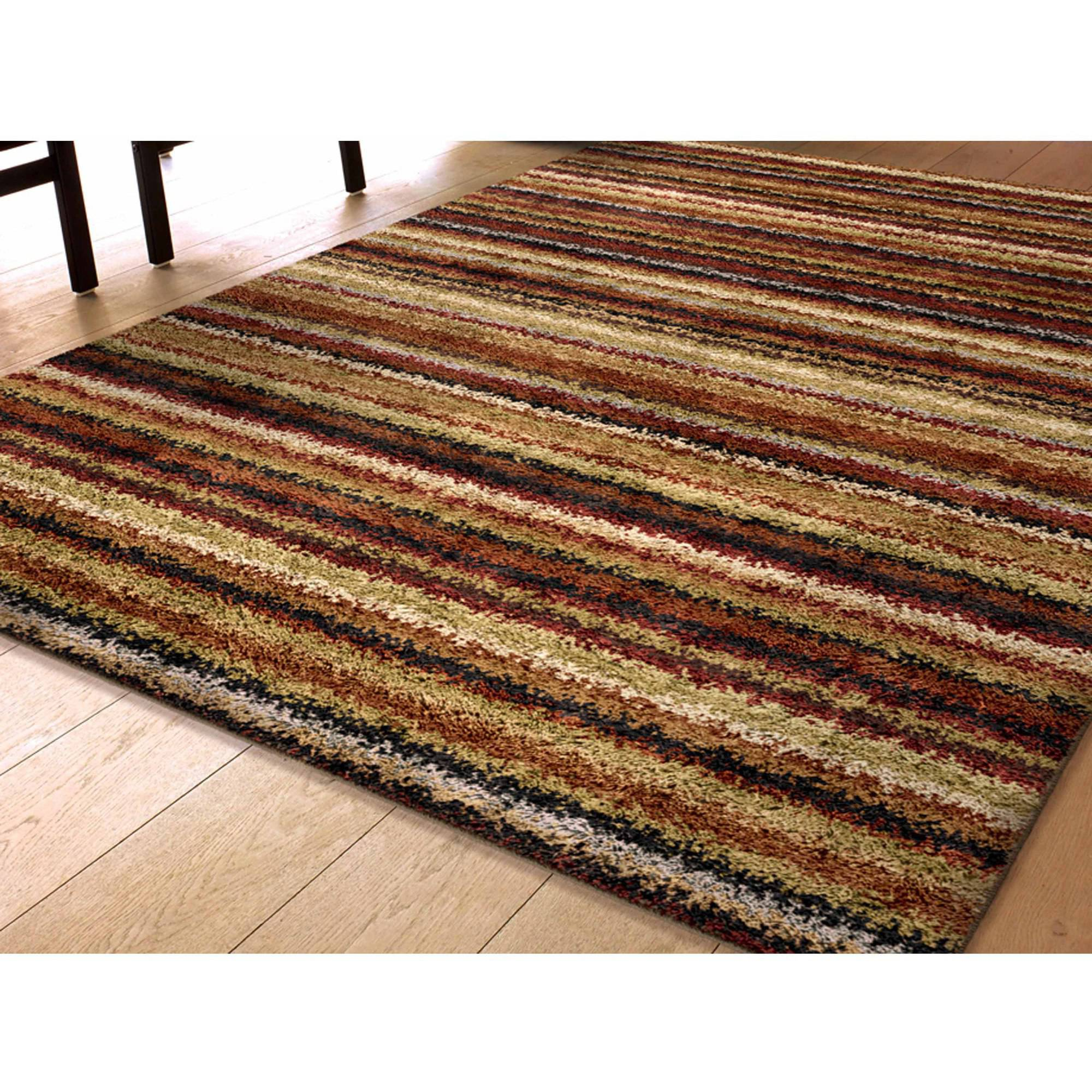 Orian Rugs Shag Greenwhich Multi Colored Area Rug