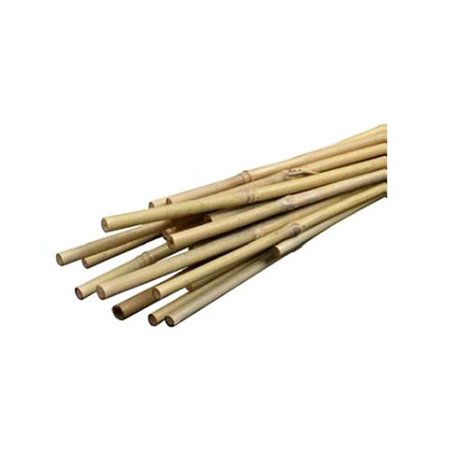 Bond Manufacturing Smg12034 Bamboo Plant Stakes 6 Ft 6 Pk