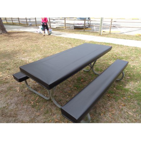 fitted heavy duty marine upholstery vinyl picnic table cover sets table gloves. Black Bedroom Furniture Sets. Home Design Ideas