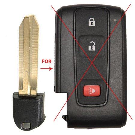 New Key Fob Blade For Toyota Prius Hybrid Smart Remote Emergency Blank Insert