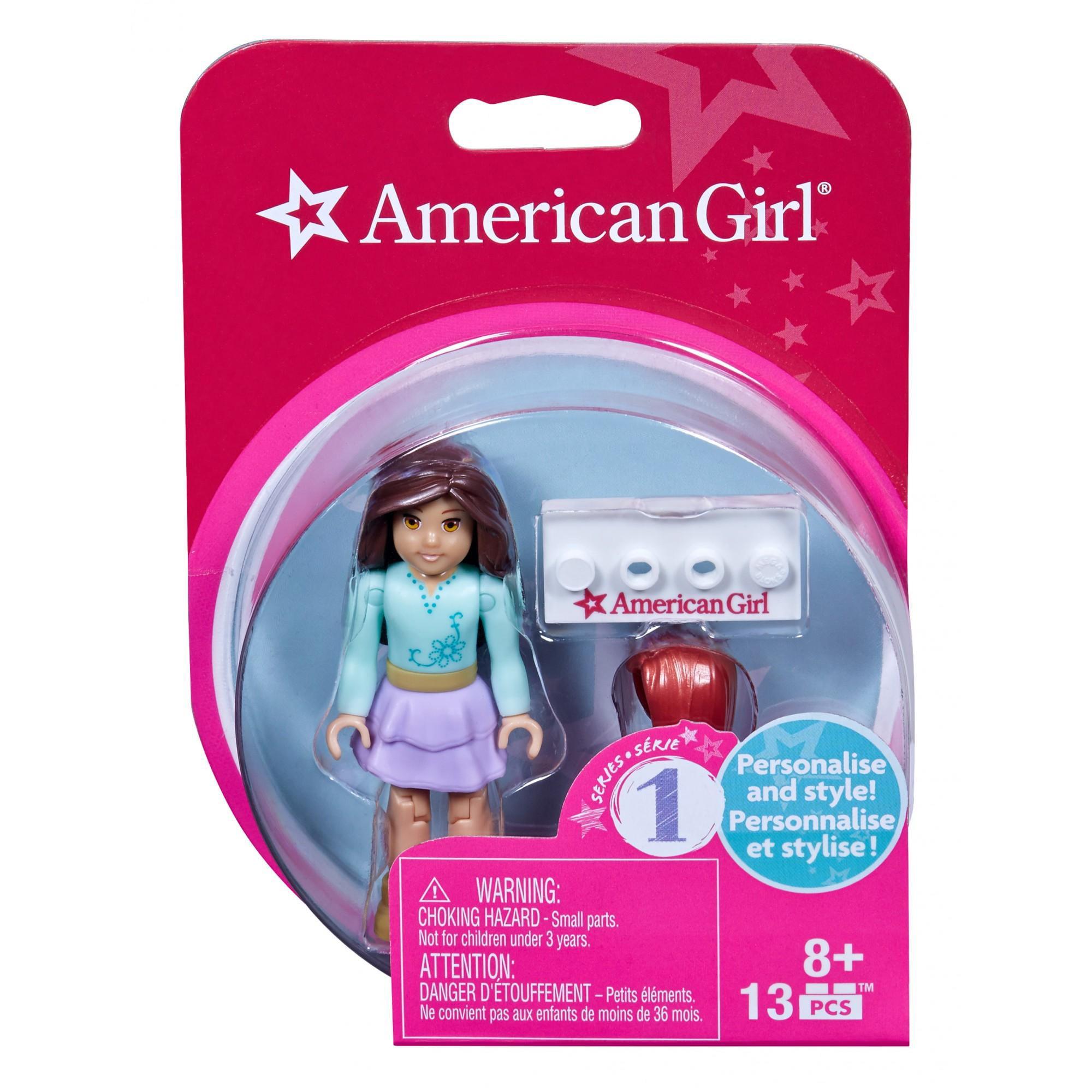 Mega Bloks Series 1 American Girl #3 Collectible Figure