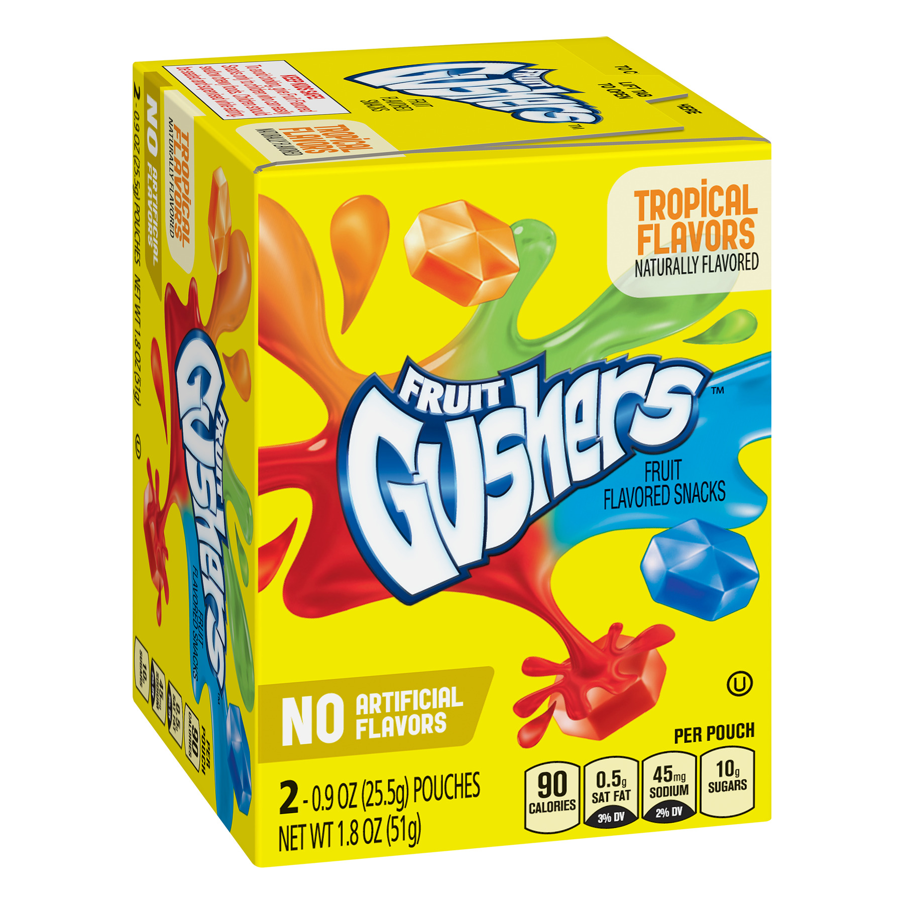 Betty Crocker® Fruit Gushers® Tropical Flavors Fruit Flavored Snacks