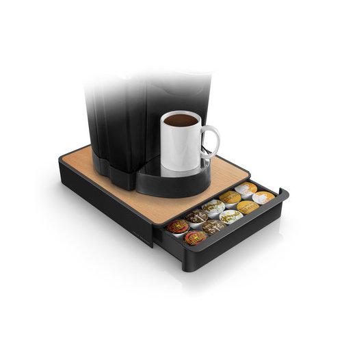 Mind Reader Wood Veneer Top Coffee Pod Drawer Walmart Com