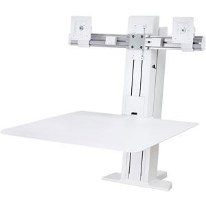 """Ergotron WorkFit-SR Desk Mount for Monitor Keyboard 24"""" S..."""