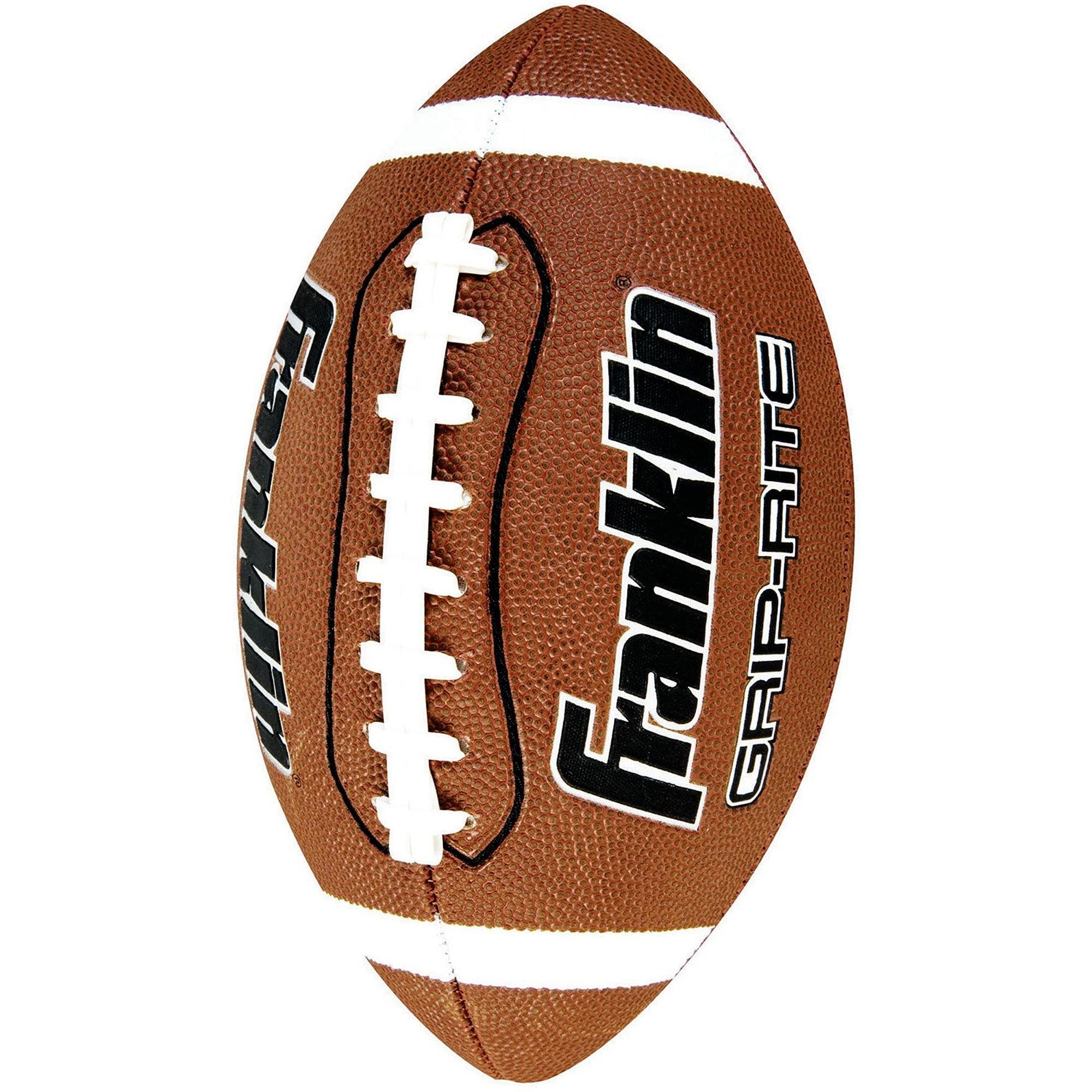 Franklin Sports Junior Grip-Rite PVC Football