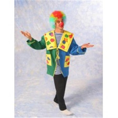 Alexanders Costumes 26-370 Mens Happy Clown - Jacket Only