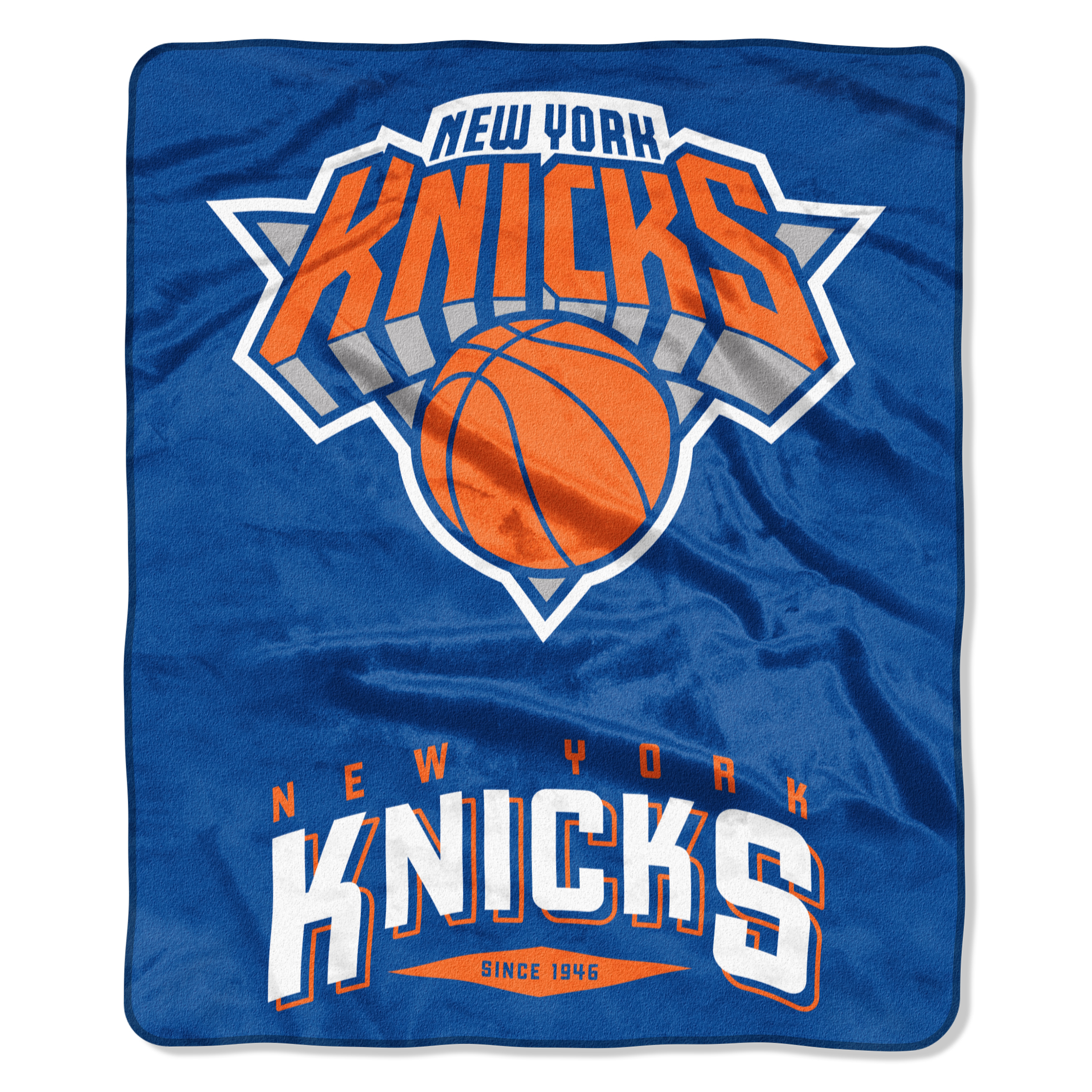 "New York Knicks The Northwest Company 50"" x 60"" Arc Raschel Throw Blanket - No Size"