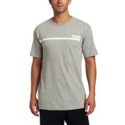 Zumba Fitness Men's Corp Crew Neck T-Shirt, Heather Gray, Small