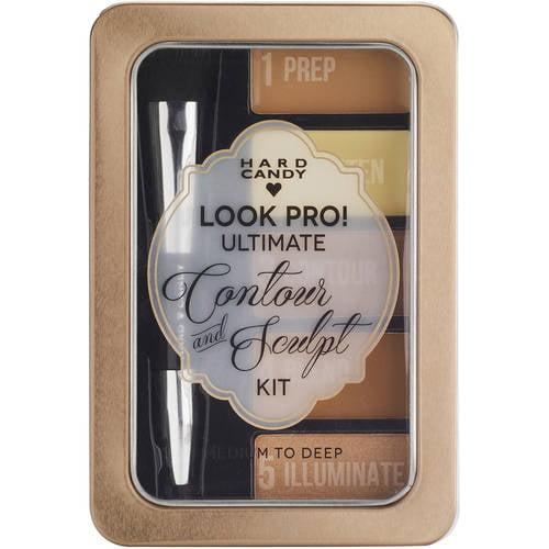 Hard Candy Look Pro! Ultimate Face Kit, 1100 medium to Deep, 0.33oz