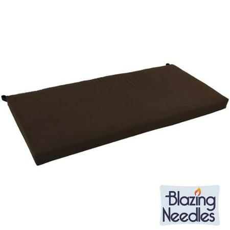 Blazing Needles 42-inch Solid Twill Indoor Bench Cushion - Walmart.com
