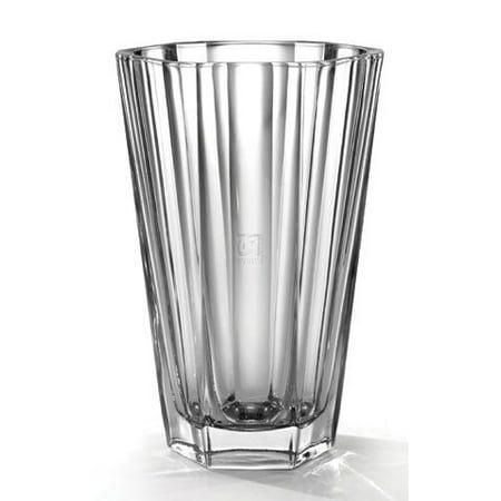 Fifth Avenue Chloe Crystal 9-1/2-Inch Vase (Fifth Avenue Crystal Aurora)