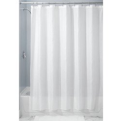 InterDesign Carlton Fabric Shower Curtain, Various Sizes