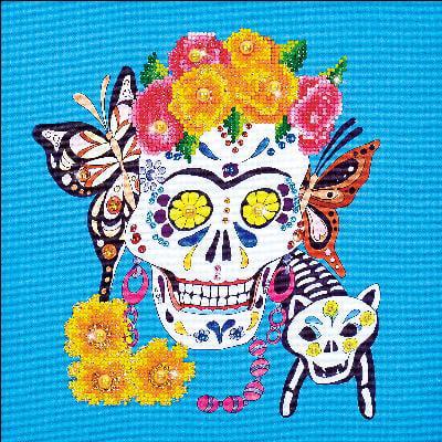 "Diamond Dotz Diamond Embroidery Facet Art Kit 15.75""X15.75""-Cat Lady"