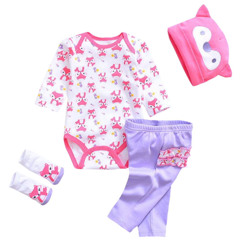 Dzt1968 Newborn Baby Clothes Reborn Baby Girl Doll Clothes Not