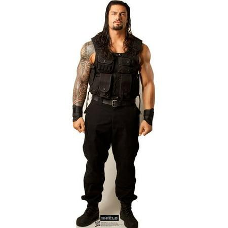 Cardboard Stand Up (Advanced Graphics Roman Reigns - WWE Cardboard)
