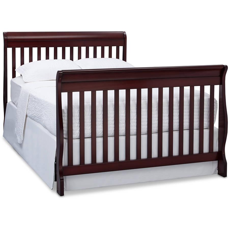 Delta Canton 4 In 1 Convertible Crib Mattress Value Bundle