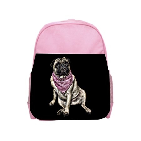 (Pug in Bandana - Girls 13