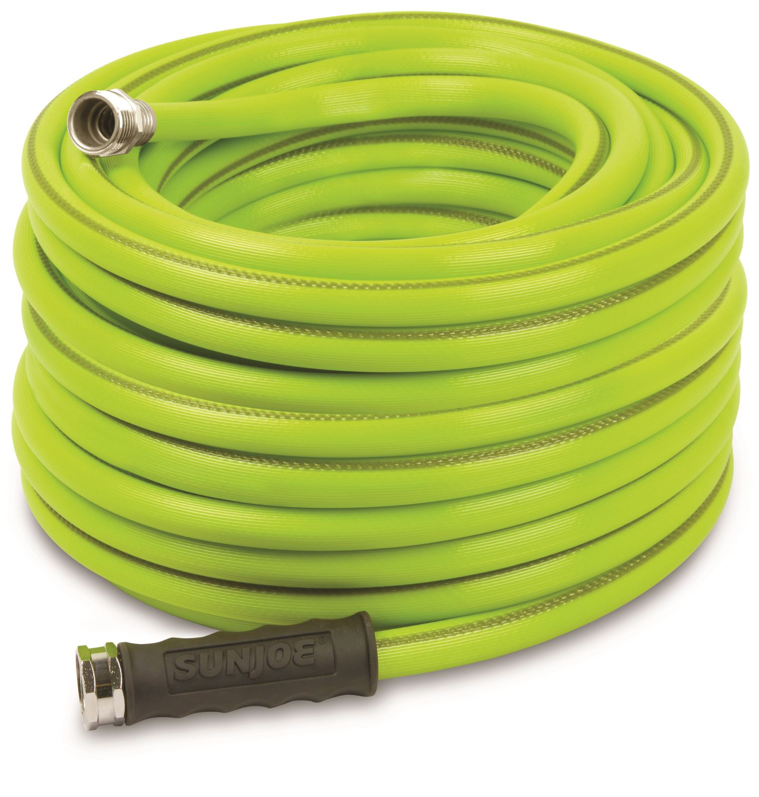 Sun Joe AJH58-100 Heavy-Duty Garden Hose | 100-Foot | 5/8-Inch Flow