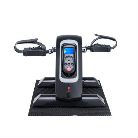Pinty Motorized Mini Electric Exercise Bike /Pedal Cycle Rehabilitation Black