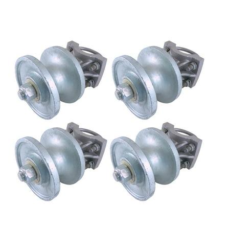 Slide Gate Roller (Cantilevered Gate Rollers,  Cantilevered Rollers, Rolling Cantilever, Slide Gate Roller Hardware, For 3