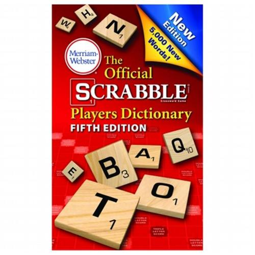Merriam - Webster  Inc.  MW-8224 Official Scrabble Player Dictionary
