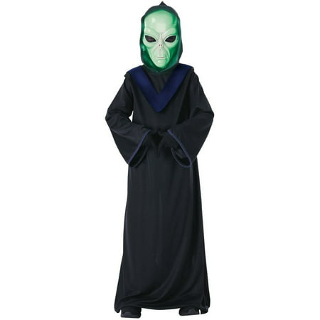 Halloween Glow in the Dark Alien Commander Child Costume - Glow Promotions Halloween Costumes