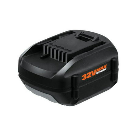 Worx Wa3537 32V Max Lithium 2 0 Ah Slide Battery Pack