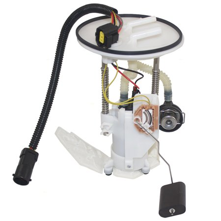BROCK Gasoline Fuel Pump Assembly with 7 Pin Connector Replacement for 02-03 Ford Explorer Mercury Mountaineer 4.0L 4.6L 1L2Z 9H307 LD E2334M