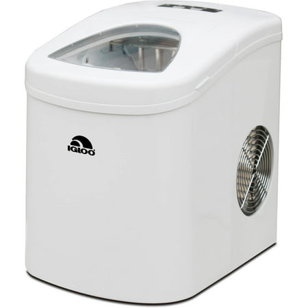 IGLOO Compact Ice Maker, White (Best Commercial Ice Maker)