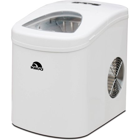 IGLOO Compact Ice Maker, White