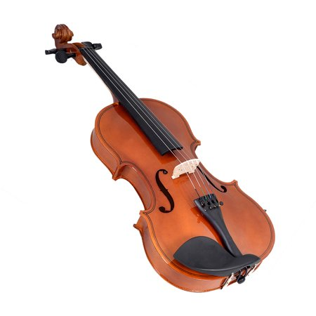 Costway Full Size 4/4 Natural Acoustic Violin Fiddle with Case Bow - image 1 de 9