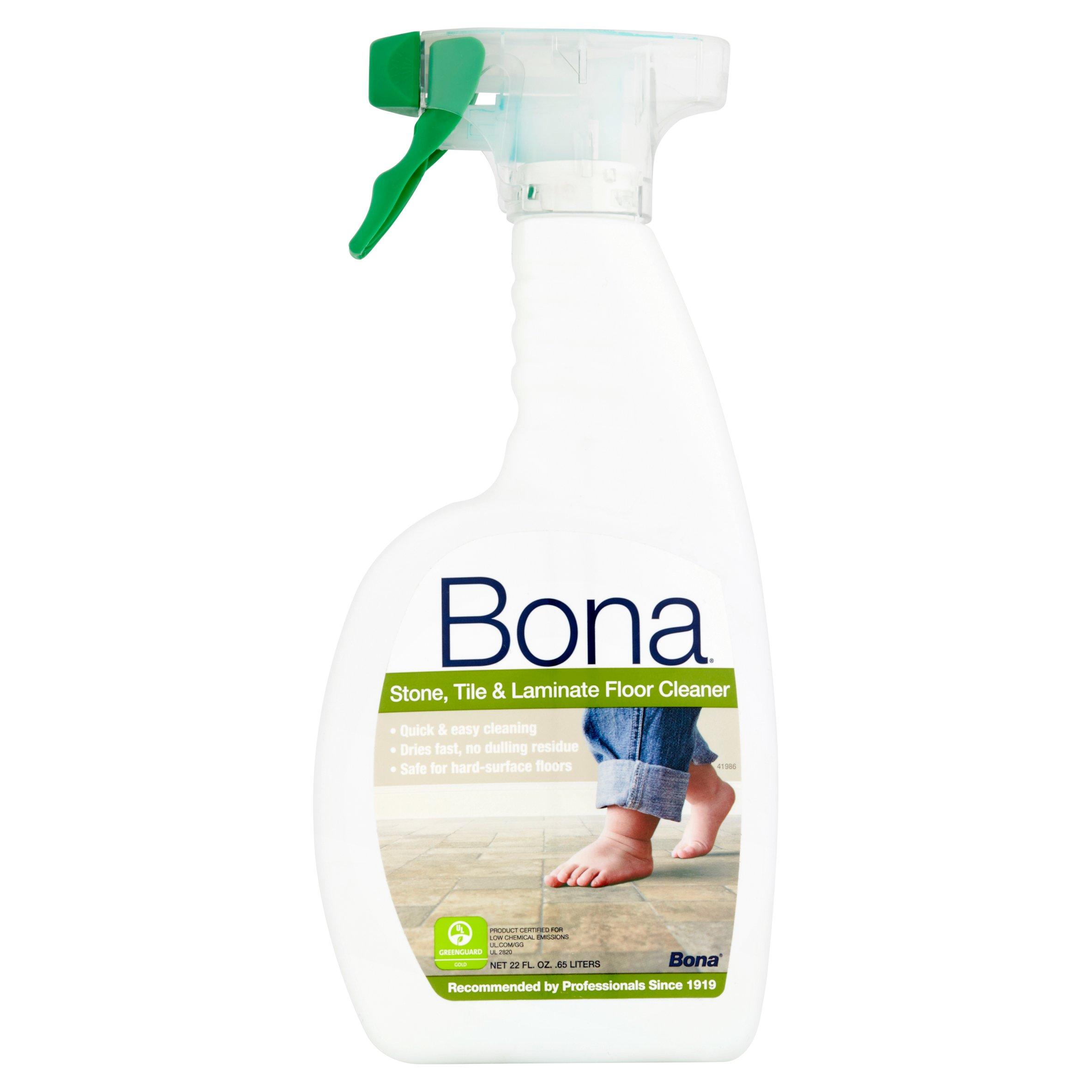 Home gt accessories gt bona pro series vinyl multipurpose cleaner - Bona Swedish Formula Stone Tile Laminate Floor Cleaner 22 Oz